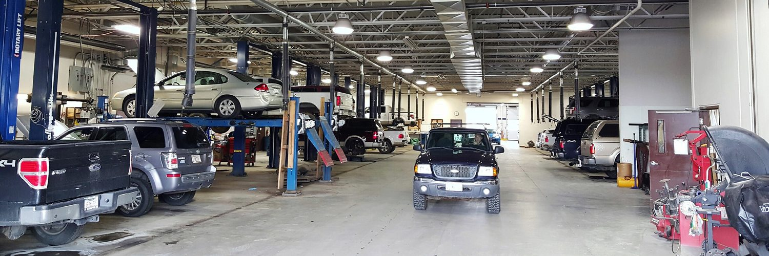 Bozeman Ford Lincoln and RV Center Service Department Bay
